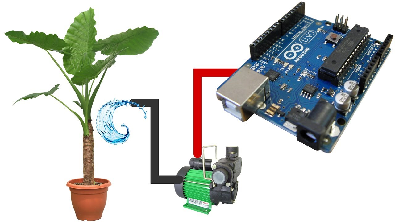 Automatic Watering System For Plants Using Arduino Learn