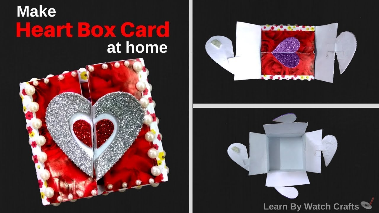 How to make a Heart Box at Your Home