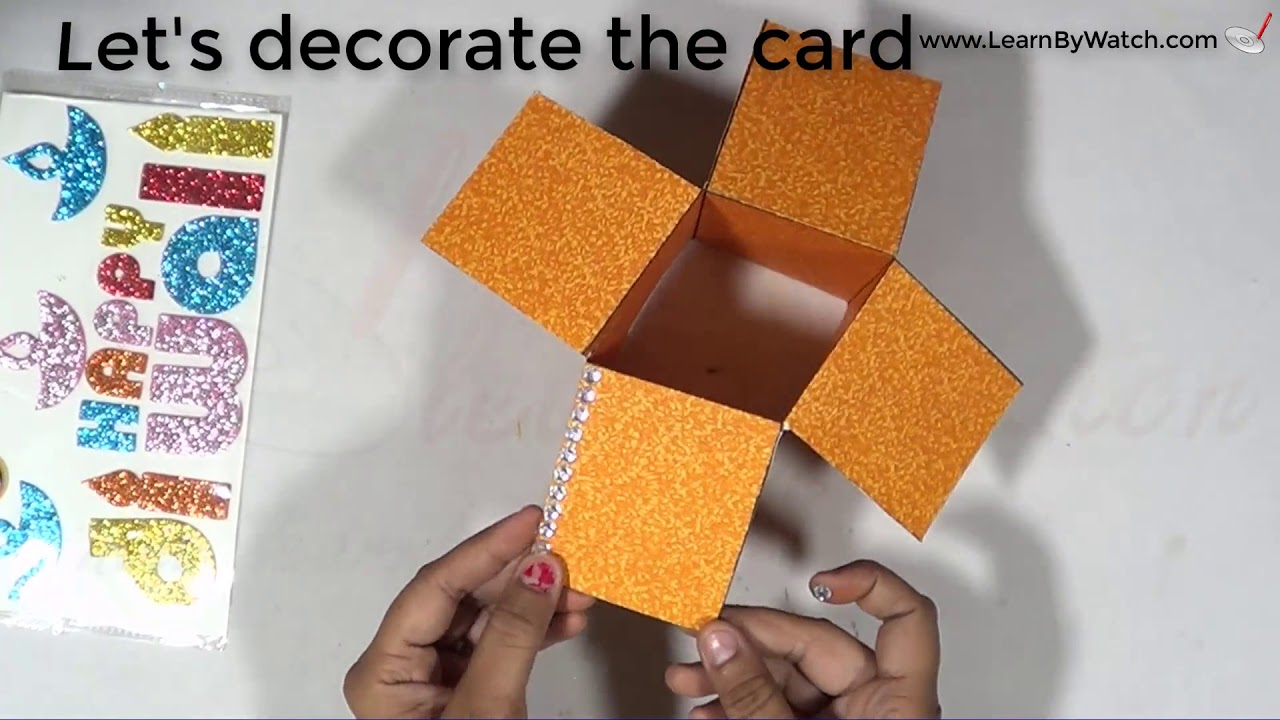 How to make Diwali Greeting Card at home